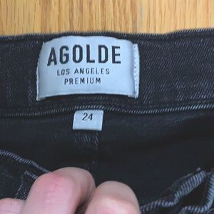 AGOLDE jeans size 24 fit like 25